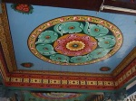 Fun pattern on the ceiling of a temple in Malaysia